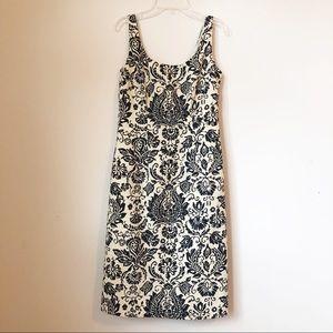 TOMMY BAHAMA Sheath Sleeveless Print Dress  Size 4
